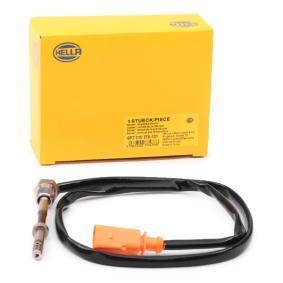 Sensor, Abgastemperatur Kabellänge: 715mm, 2-polig mit OEM-Nummer 03L 906 088 CC