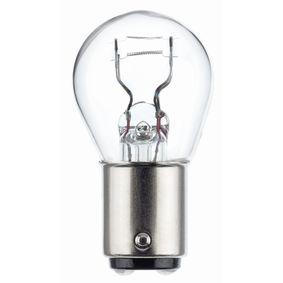 Крушка с нагреваема жичка, стоп светлини / габарити P21/4W, 12волт, 21/4ват 8GD 178 560-031