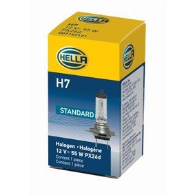 Крушка с нагреваема жичка, фар за дълги светлини H7, 55ват, 12волт 8GH 178 555-011 VW GOLF, PASSAT, POLO