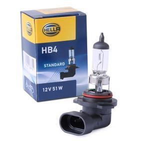 Bulb, spotlight HB4 12V 51W P20d Halogen 8GH 178 555-091 FORD TRANSIT, MAVERICK