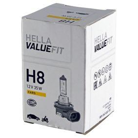 Glühlampe, Fernscheinwerfer H8, 35W, 12V 8GH 242 632-151 VW GOLF, PASSAT, POLO