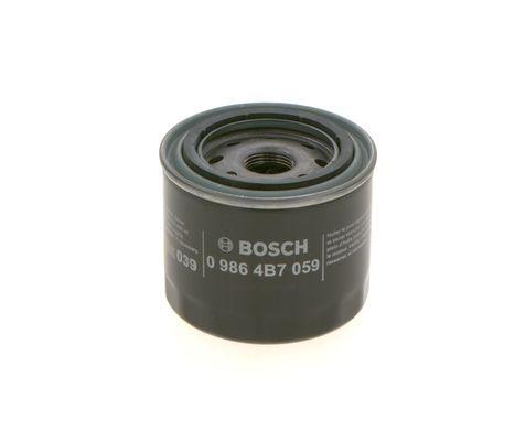 Motorölfilter 0 986 4B7 059 BOSCH PM059 in Original Qualität