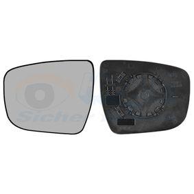 Mirror Glass, outside mirror 3383835 JUKE (F15) 1.6 DIG-T 4x4 MY 2019