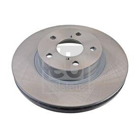 Bremsscheibe Bremsscheibendicke: 24mm, Lochanzahl: 5, Ø: 260,0mm mit OEM-Nummer 26300-AE040