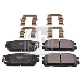 Bremsbelagsatz, Scheibenbremse Breite: 46,7mm, Dicke/Stärke 1: 15mm mit OEM-Nummer 58302 H1A00