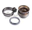 HJS Hosenrohr MERCEDES-BENZ vorne, mit Befestigungsmaterial