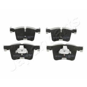 Brake Pad Set, disc brake PA-0106AF 3 Saloon (F30, F80) 320d 2.0 MY 2014