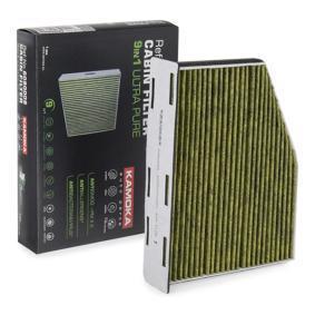 Filter, Innenraumluft Breite: 273mm, Höhe: 58mm mit OEM-Nummer 1K1819653B+