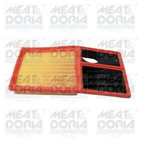 Luftfilter Länge: 375mm, Breite: 190mm, Höhe: 43mm, Länge: 375mm mit OEM-Nummer 036129620 H