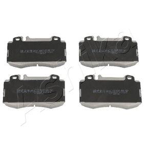 2008 Mercedes W211 E 220 CDI 2.2 (211.006) Brake Pad Set, disc brake 50-00-0510