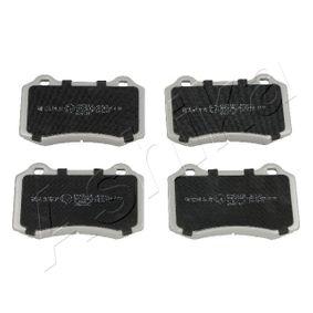 Bremsbelagsatz, Scheibenbremse mit OEM-Nummer MXD 2750AA