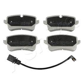 Bremsbelagsatz, Scheibenbremse mit OEM-Nummer 4G0 698 451 J