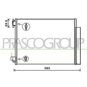 Kondensator, Klimaanlage Kältemittel: R 134a mit OEM-Nummer 921006454R