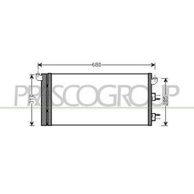 Condenser, air conditioning FT122C001 PANDA (169) 1.2 MY 2010