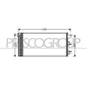 Condenser, air conditioning FT122C002 PANDA (169) 1.2 MY 2013