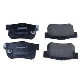 Brake Pad Set, disc brake Width: 88,5mm, Height: 47,5mm, Thickness: 14,8mm with OEM Number 06430-S9A-A00