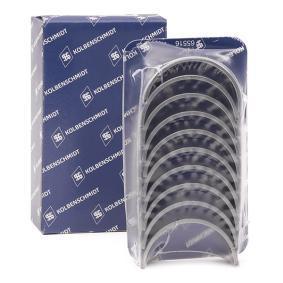 К-кт лагери колянов вал 77553600 Golf 5 (1K1) 1.9 TDI Г.П. 2006
