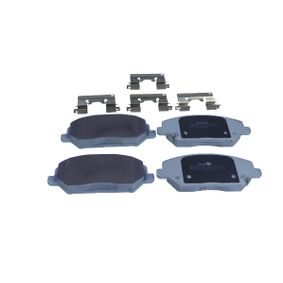 Brake Pad Set, disc brake Width: 59,6mm, Thickness: 18,9mm with OEM Number 58101G 4A10