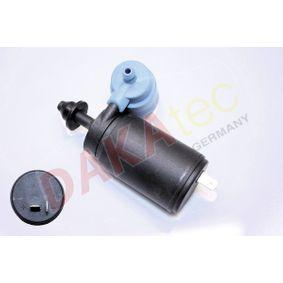 Waschwasserpumpe, Scheibenreinigung Spannung: 12V mit OEM-Nummer 90492357