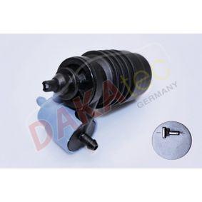 Waschwasserpumpe, Scheibenreinigung Spannung: 12V, Anschlussanzahl: 2 mit OEM-Nummer 090226561