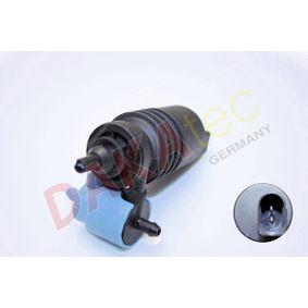 Waschwasserpumpe, Scheibenreinigung Spannung: 12V, Anschlussanzahl: 2 mit OEM-Nummer 1T0 955 651 A
