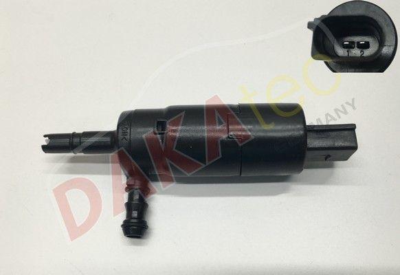 DAKAtec  40039W Waschwasserpumpe, Scheibenreinigung Spannung: 12V, Anschlussanzahl: 2