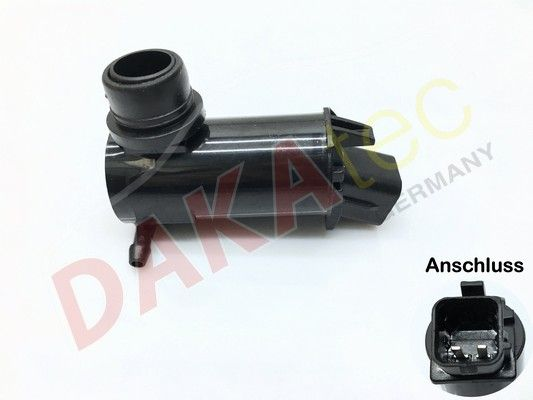 DAKAtec  40047W Water Pump, window cleaning Number of Poles: 2-pin connector