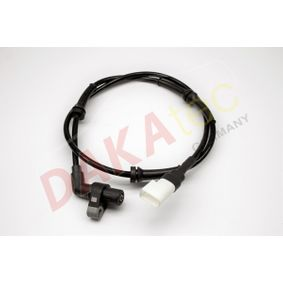 Sensor, Raddrehzahl Pol-Anzahl: 2-polig mit OEM-Nummer 1E0043701B