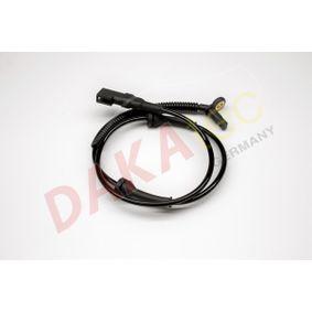 Sensor, Raddrehzahl Pol-Anzahl: 2-polig mit OEM-Nummer 2S61-2B372AD