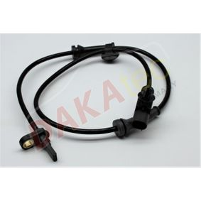 Sensor, Raddrehzahl Pol-Anzahl: 2-polig mit OEM-Nummer 4545-E1