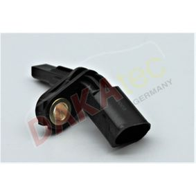 Sensor, Raddrehzahl Pol-Anzahl: 2-polig mit OEM-Nummer WHT 003 857