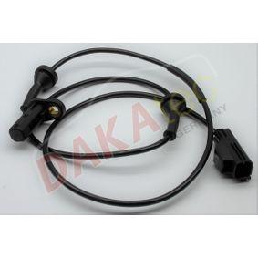 Sensor, Raddrehzahl Pol-Anzahl: 2-polig mit OEM-Nummer 3077373-8
