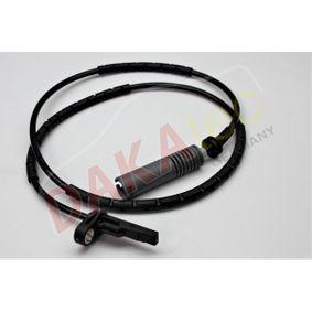 Sensor, Raddrehzahl Pol-Anzahl: 2-polig mit OEM-Nummer 3452 6 764 610