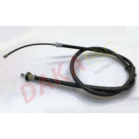 Cable, parking brake 600017 PUNTO (188) 1.2 16V 80 MY 2000
