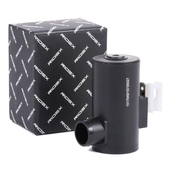 Bomba de agua de lavado, lavado de parabrisas RIDEX 794W0016 conocimiento experto