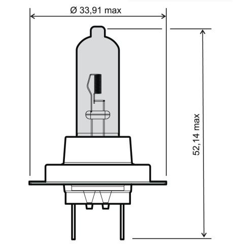 RMS  24 651 0115 Bulb, spotlight