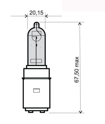 RMS  24 651 0355 Bulb, spotlight