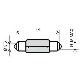 Bulb 24 651 0125 Corsa Mk3 (D) (S07) 1.4 MY 2012