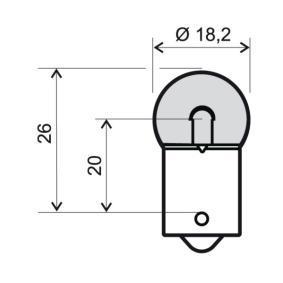 Крушка с нагреваема жичка 24 651 0225 Jazz 2 (GD_, GE3, GE2) 1.2 i-DSI (GD5, GE2) Г.П. 2007
