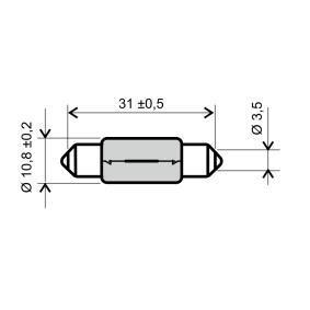 Bulb 24 651 0495 Corsa Mk3 (D) (S07) 1.4 MY 2013