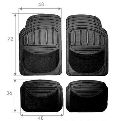 Autofußmatten HART TS2011 Bewertung