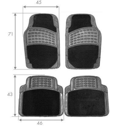 Autofußmatten HART TS2210 Bewertung
