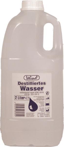 VELIND  31354 Destilliertes Wasser