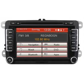 Multimedia receiver Bluetooth: Yes VN720VW VW GOLF, POLO, PASSAT
