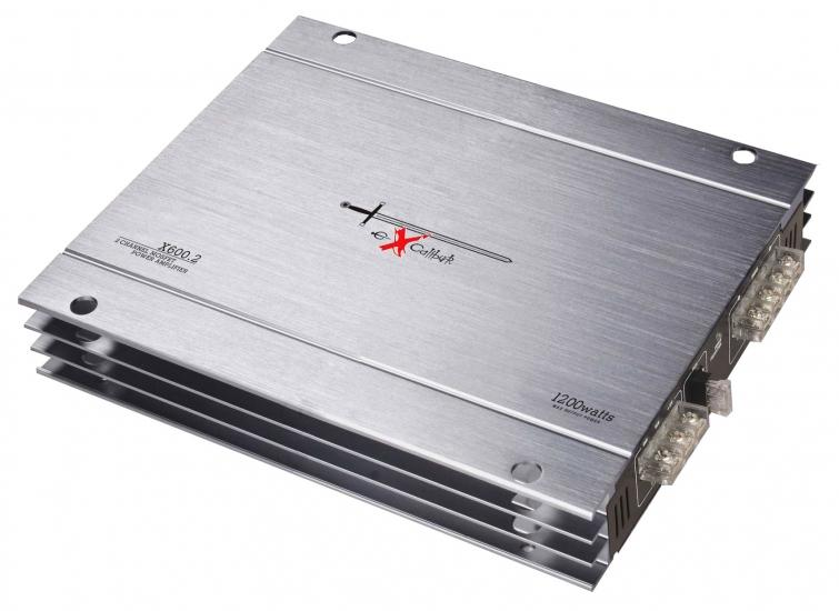 EXCALIBUR  X600.2 Audioförstärkare