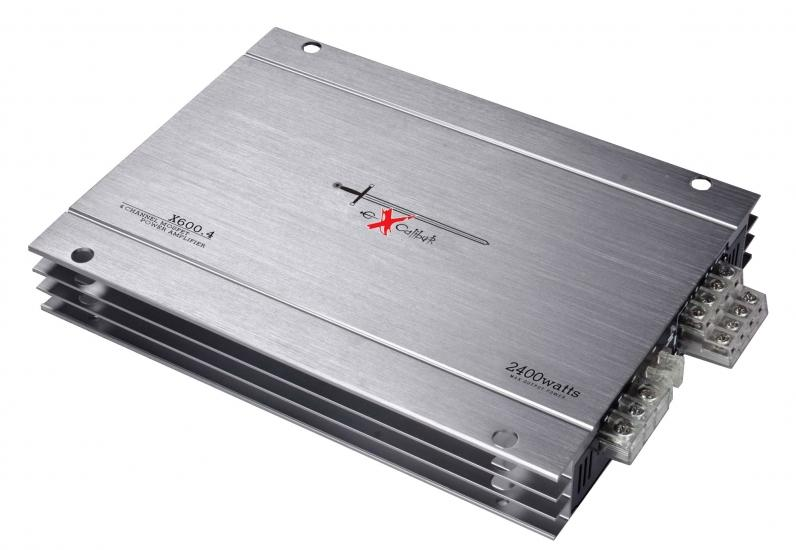 EXCALIBUR  X600.4 Audio-versterker