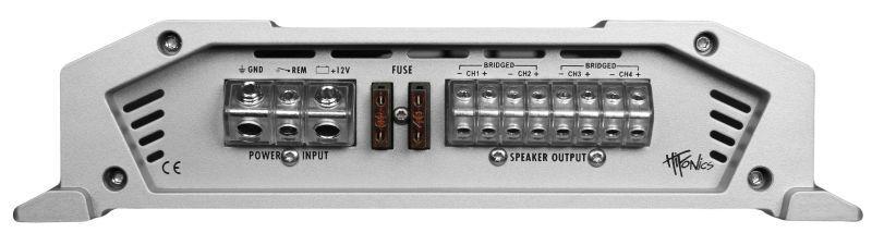 Audio Amplifier HIFONICS VXI6404 rating