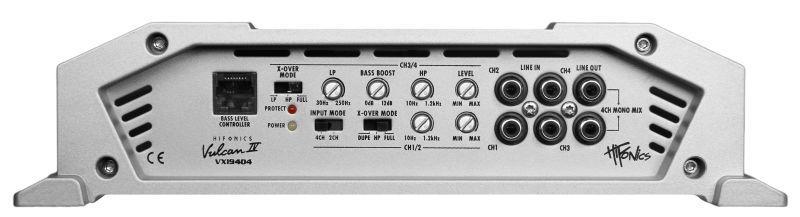 Audio Amplifier HIFONICS VXI9404 rating