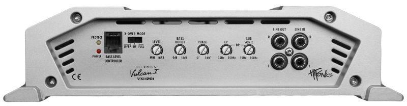 Audio-versterker HIFONICS VXI1201 expert kennis