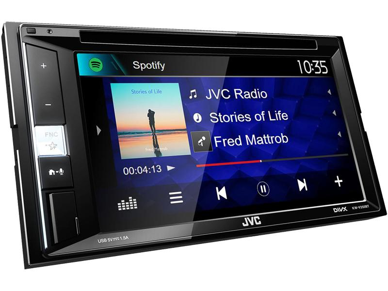 Multimediální autorádio KW-V250BT JVC KW-V250BT originální kvality